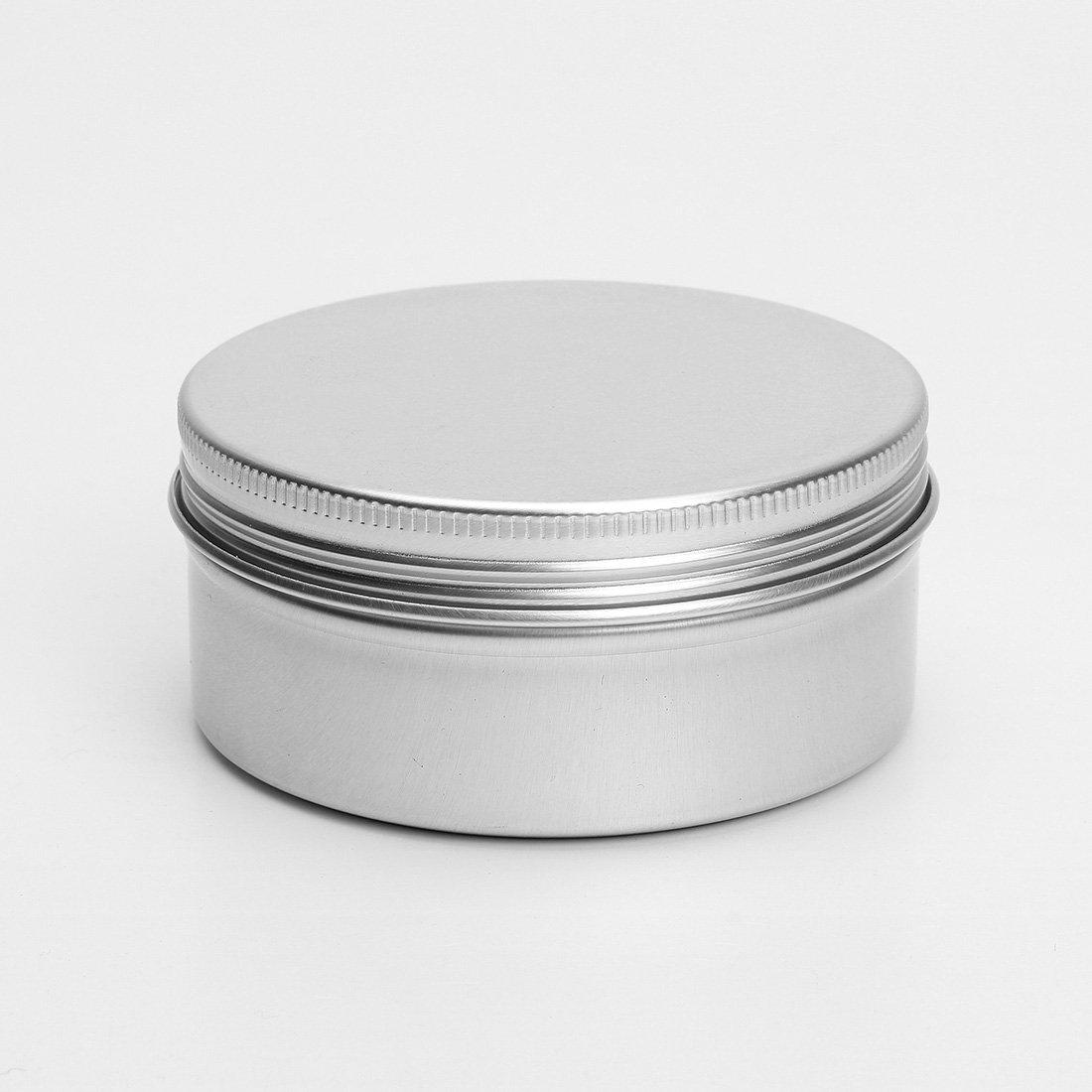 YOST-50PCS Aluminum Box Spice Box Balm Lip Balm Makeup box empty 50ml