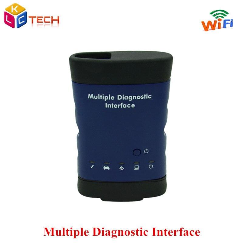 Цена за 2017 + качество DHL MDI WIFI Несколько инструмент диагностики автомобиля-детектор MDI множественный диагностический Интерфейс OBD2 автоматический диагностический инструмент
