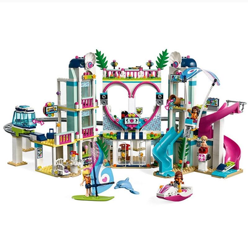 2018 nouveaux amis le modèle de la ville de Heartlake Compatible avec les amis qui aiment blocs de construction briques jouets pour enfants G cadeaux - 3