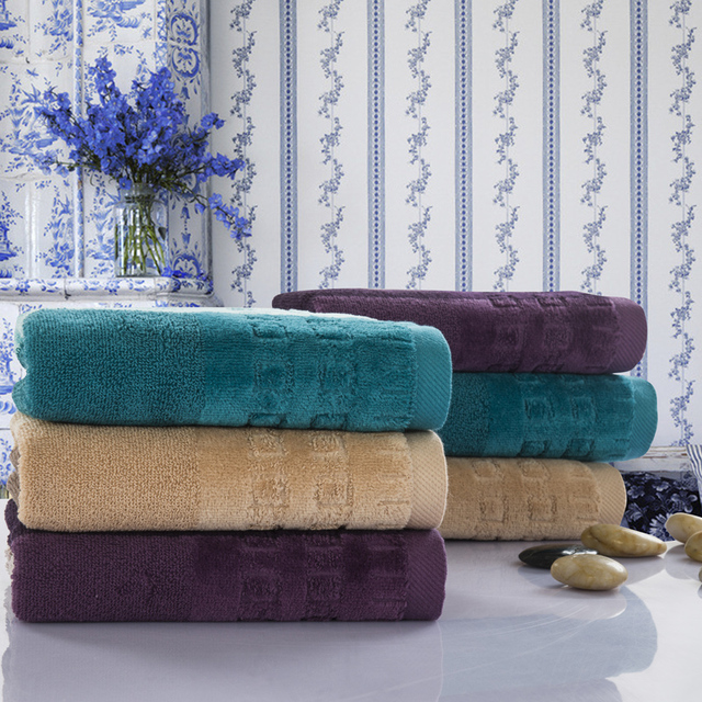 Luxury Quality Bath Towels 3 colors egyptian cotton towels high quality bath towels for