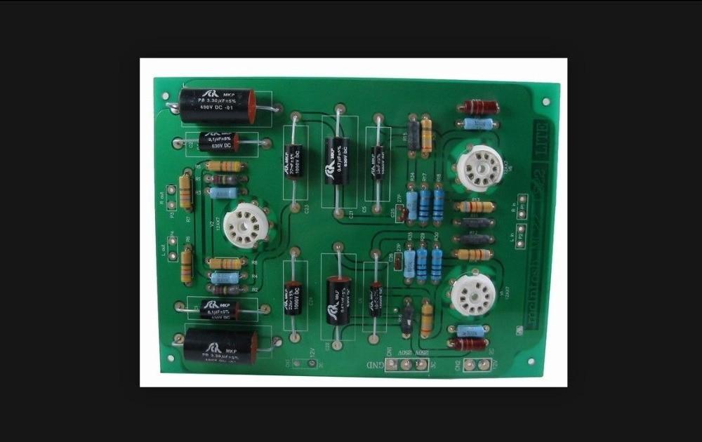LITE LS22 Preamplifier-Board For McIntosh C22 Circuit 220mm*115mm preamplifier board 2x opa604ap 2x opa2604ap finished board dc 15v circuit