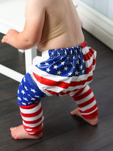 New hot sale American flag Baby Little Girls Leg Warmers Infant legwarmers baby Leggings 4th of july baby Socks