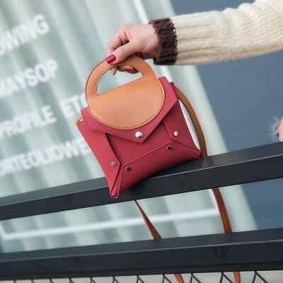 Piazza Mini Contrasto Del Di Messaggero Borsa Piccola Colour Della Spalla Sacchetto photo Colore Modo Photo Fibbia Colour Nuovo 1zYxSx