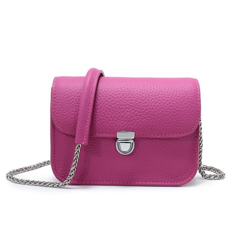 FoxTail & Lily Lock Small Flap Bag Chain Handtassen echt leer Dames - Handtassen - Foto 2