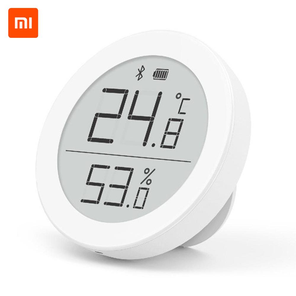 New Xiaomi Cleargrass Bluetooth Temperature Humidity Sensor Data Storage E-Link INK Screen Thermometer Moisture Meter Mi APP