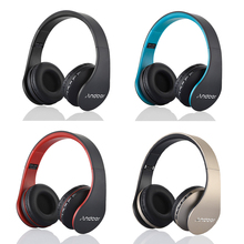 Digital 4 in 1 Andoer LH-811 Stereo Wireless Bluetooth 3.0 + EDR Headphone Headset & Wired Earphone with Mic MicroSD/TF FM Radi