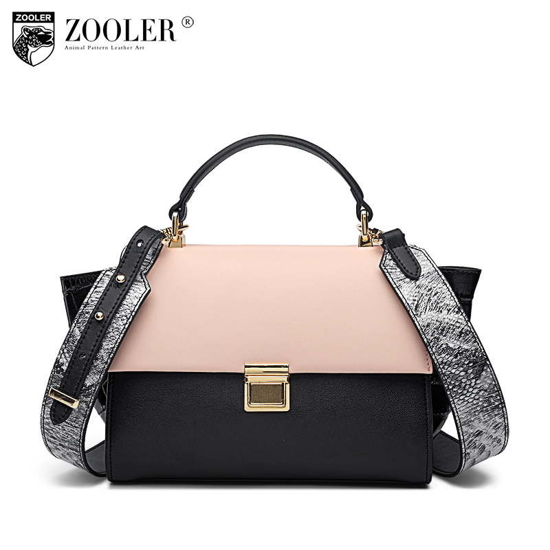 ZOOLER Women Bags Genuine Leather Messenger Shoulder Handbags Fashion Famous Brand Ladies Bolsa Female Bags Designer Luxury Tote 2017 new women leather handbags fashion shell bags letter hand bag ladies tote messenger shoulder bags bolsa h30