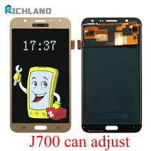 5.5 LCD J700  For SAMSUNG Galaxy J7 2015 Display Touch Screen Digitizer Assembly Replacement Parts J700F J700M J700H