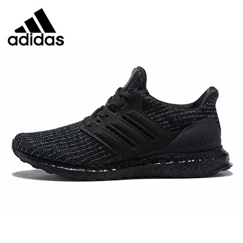 5e665222698dd Adidas Ultra Boost 4.0 UB 4.0 Popcorn Running Shoes Sneakers Sports for Men  Black BB6171 40