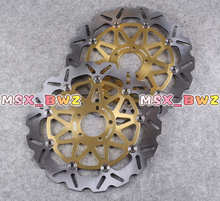Front Brake Disc Rotors For Suzuki GS 400 GS E 500 GSF BANDIT 250 400 GSX 1200 Motorcycle Brake Disks!