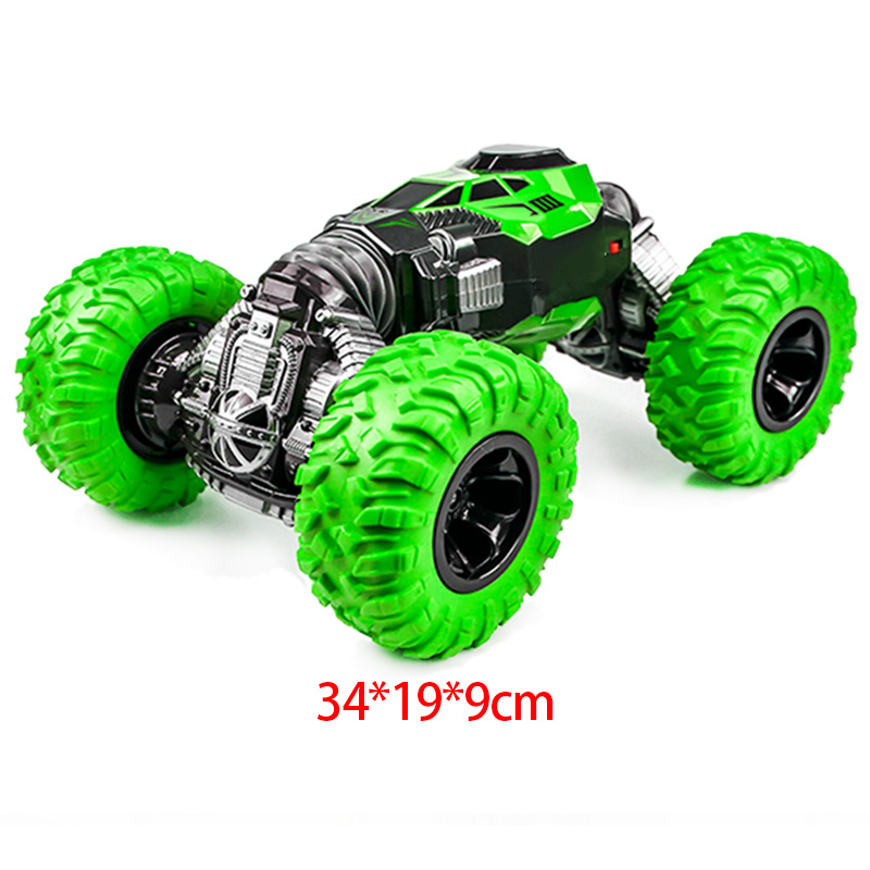 Double-Sided Rc Car 4Wd 2.4Ghz 1/16 One Key Transformation All-Terrain Vehicle Climbing Car Remote Control Truck Stunt Car