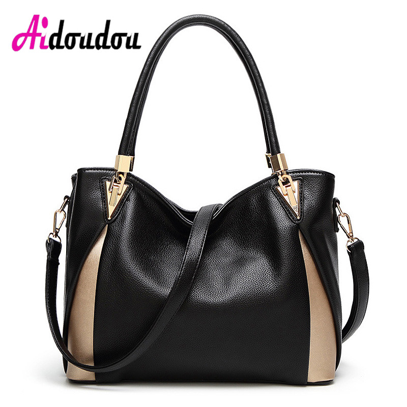 2018 Women Leather Handbags Luxury Brand Design Bags Big Women Famous Ladies Hand Bags Sac Femme De Marque De Luxe En Cuir kabelky luxury handbags women bags designer shoulder bag female big tote soft leather sac a main femme de marque luxe cuir 2016