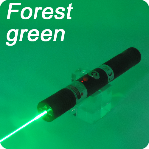 50mW forest green handheld laser With case and Keys