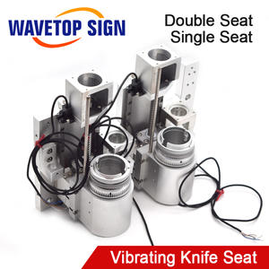 Wavetopsign Vibrating-Knife Single Synchronous-Wheel Coupling Timing-Belt Double-Seat