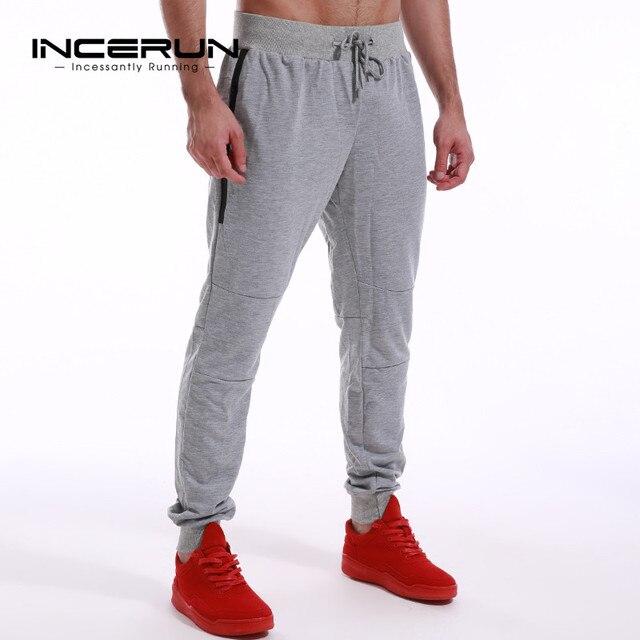 Joggingbroek Heren Skinny.Incerun Heren Skinny Joggingbroek Casual Joggers Fitness Workout