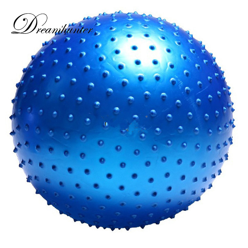 Multi Colors Sports Yoga Balls With Point Message Fitness Bodybuilding Exercise Training Pilates Ball Fitball 65CM 75CM 95CM|pilates ball|yoga ballfitball 65cm - AliExpress