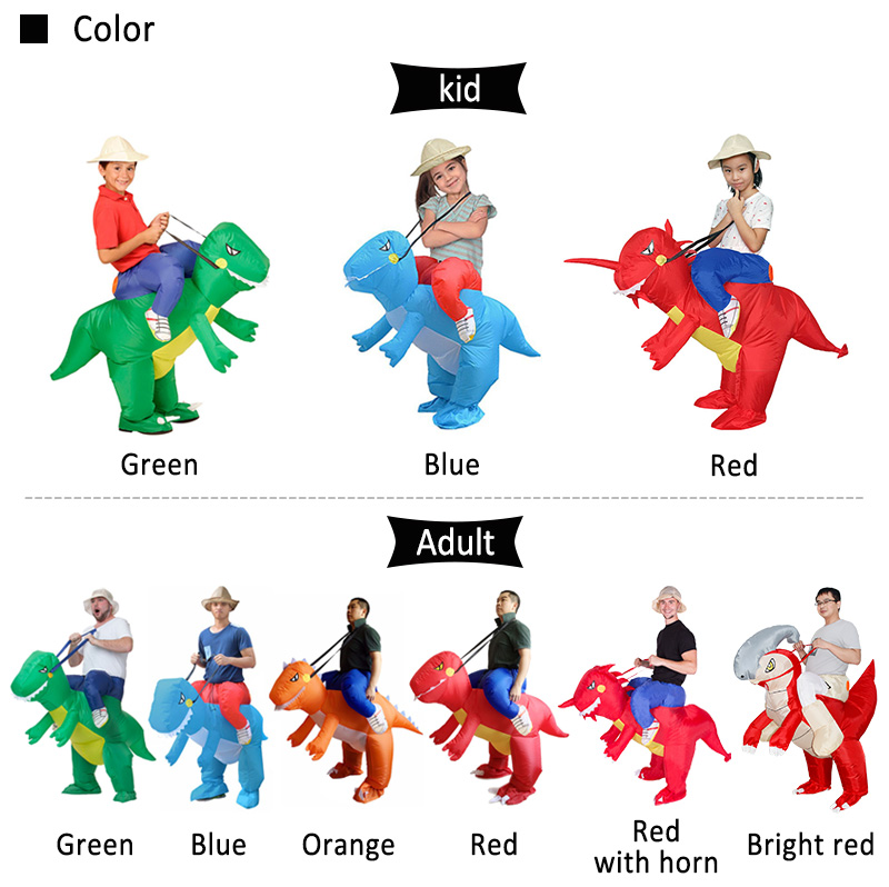 inflatable dinosaur costume 03