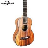 SevenAngel 23/ 26 Ukulele Tenor Acoustic Mini guitar KOA Sweet Acacia Uke Rosewood Fretboard Electric Ukelele with Pickup EQ