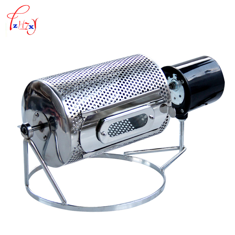 Home Mini Coffee Roaster Stainless Steel Baking Coffee Beans Manual Peanut Machine Melon Seeds Nut Baking Tool Used In The Stove coffee bean baking machine almond roaster roasted peanut coffee nuts seeds etc