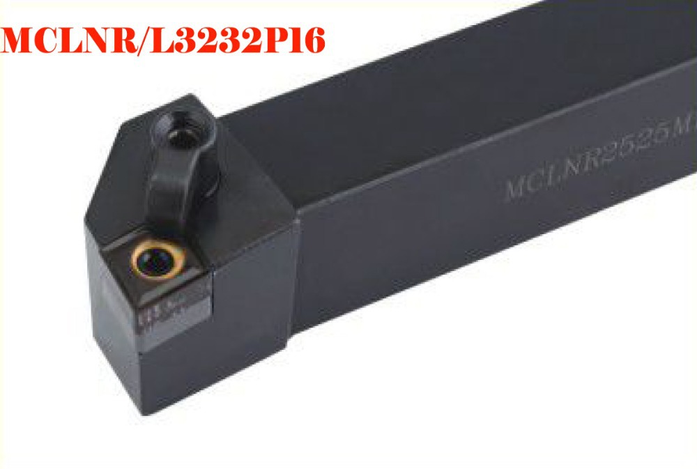 CNC lathe tool cutter bar 95 degrees external circular knife MCLNL3232P16(Left)  lathe tools lathe cutting tools Milling machine 2mm wide blade cutter rod 12mm outer diameter cutting arbor external grooving lathe tool holder width grooving parting cutting