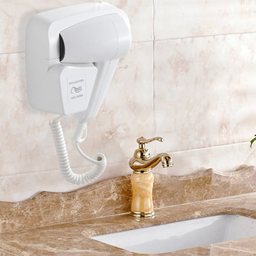 Personal Care Electric Hair Dryer Wall Mount Hotel bathroom Home Bathroom Hair Dryer Skin 220v Hanging Wall Hanging Hair Dryer