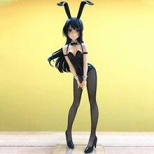 HEYZO 25-40 centímetros Anime Malandro Não Sonho de Menina de Coelho Senpai Sakurajima Mai Sexy girl Anime PVC anime figura Presentes de Natal