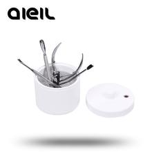 Машинка для маникюра, резак для ногтей, Маникюрный Инструмент, мини-стерилизатор, коробка для сверления ногтей, мини-сверла для ногтей, очиститель, инструмент для маникюра