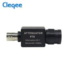 Cleqee P78 20:1 сигнал аттенюатор 10 МГц полоса пропускания осциллограф Аксессуары адаптер BNC осциллограф HT201 обновленная версия