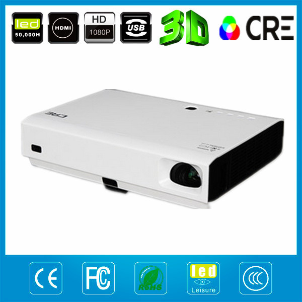 NEW products LED font b LASER b font portable projetor 1280x800 native 720p Shutter 3D proyector