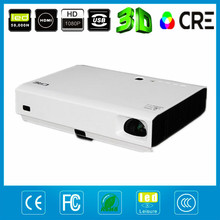 NEW products! LED + LASER portable projetor 1280×800 native 720p Shutter 3D proyector high brightness pico mini projector