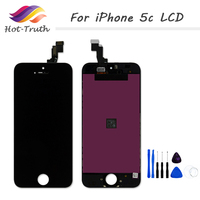 ET Super Quality New Brand AAA For IPhone 5C LCD Screen Display With Touch Digitizer Assembly