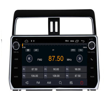 "10.2""Car radio for TOYOTA PRADO 2018+ Octa core Android 9.0 car dvd player gps navigation with 4 G RAM, 32G iNand Stereo Audio"