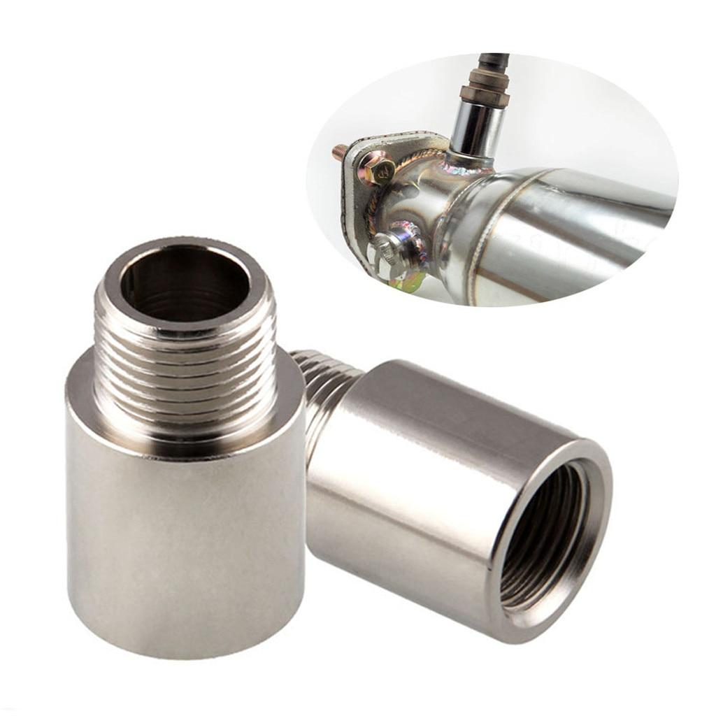 Exhaust Gas Oxygen Sensor O2 Oxygen Sensor Extender Extension Spacer M18 X1.5 Bung Hho Adapter Cnc Cutting Tp084-6 Iron Car Accessorie Multipurpose 0.8