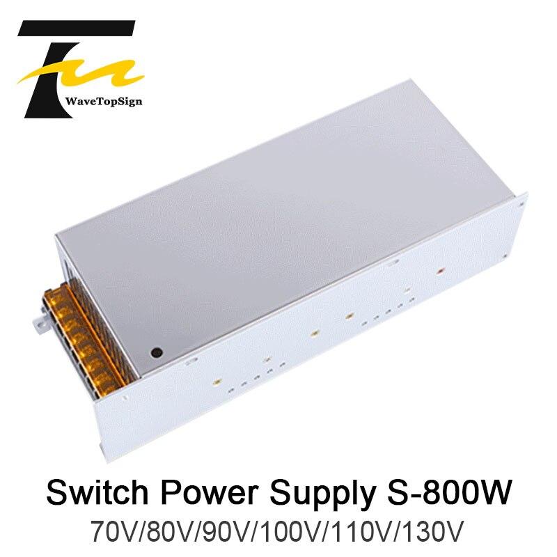 WaveTopSign S 800W DC Regulated Voltage Adjustable High Power Switch Power Supply Output VDC 70V 80V