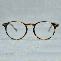 Tianou Acetate Retro Full Rim Optical Eyeglasses Frame For Women And Men Eyewear 5 Color OV5241
