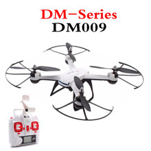 Hot Sell FPV DM009 RC Helicopter 2.4G 4CH 6 Axis Air Pressure Height Quadcopter With Real-Time 2MP HD WiFi Camera Drone