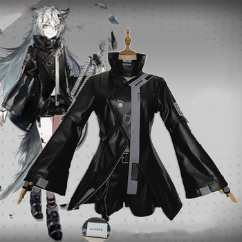 VEVEFHUANG Game Arknights Cosplay Costume Lappland Outfit Full Suit Adult Women Cosplay Halloween Carnival Costumes 2