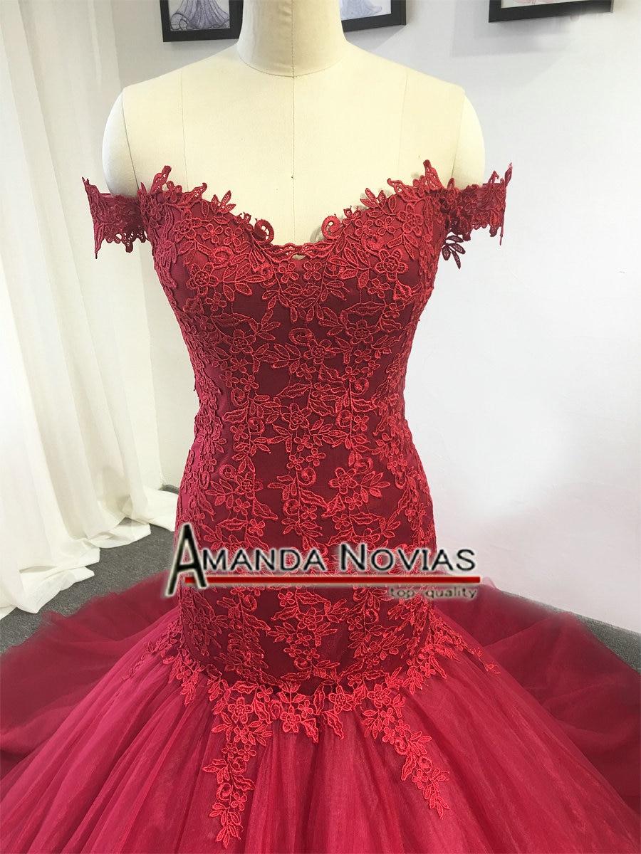 US $11.11 11% OFFred wedding dress 11 new model mermaid lace bridal  dressesbridal dressred wedding dresswedding dress - AliExpress