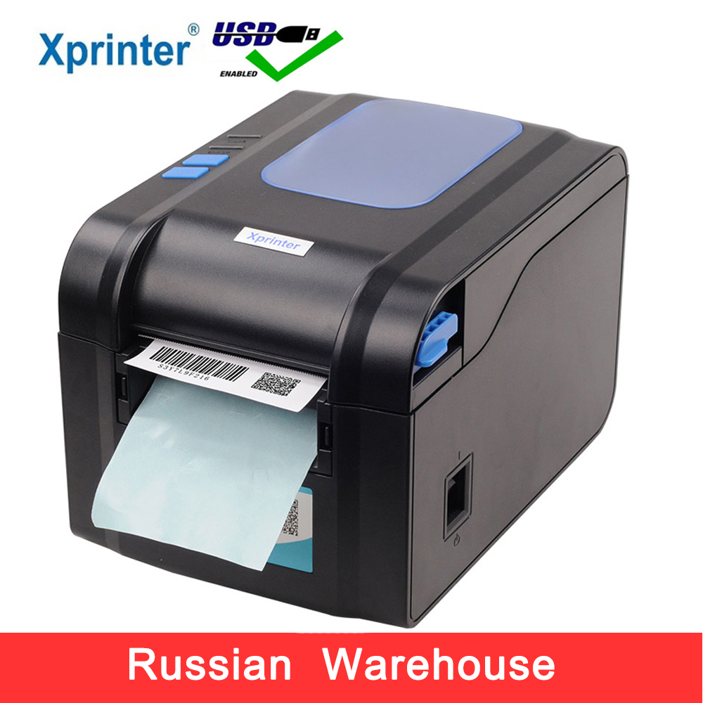 Xprinter Label Barcode Printer Thermal Receipt Printer Bar Code Printer 20mm-80mm With Auto Stipping XP-370BXprinter Label Barcode Printer Thermal Receipt Printer Bar Code Printer 20mm-80mm With Auto Stipping XP-370B