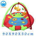 90CM Frog Model Baby Play Mat 0-1 Year Infant Baby Educational Mat Newborn Baby Crawling Carpet Soft Baby Game Mat PX13