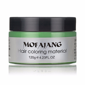 Image 5 - Mofajang Harajuku Style Styling Products Hair Color Wax Dye One time Molding Paste Seven Colors Maquillaje Make Up Hair Dye Wax
