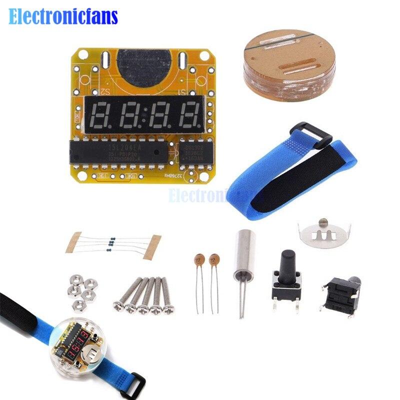 Smart Electronic single-chip LED watches electronic clock ki