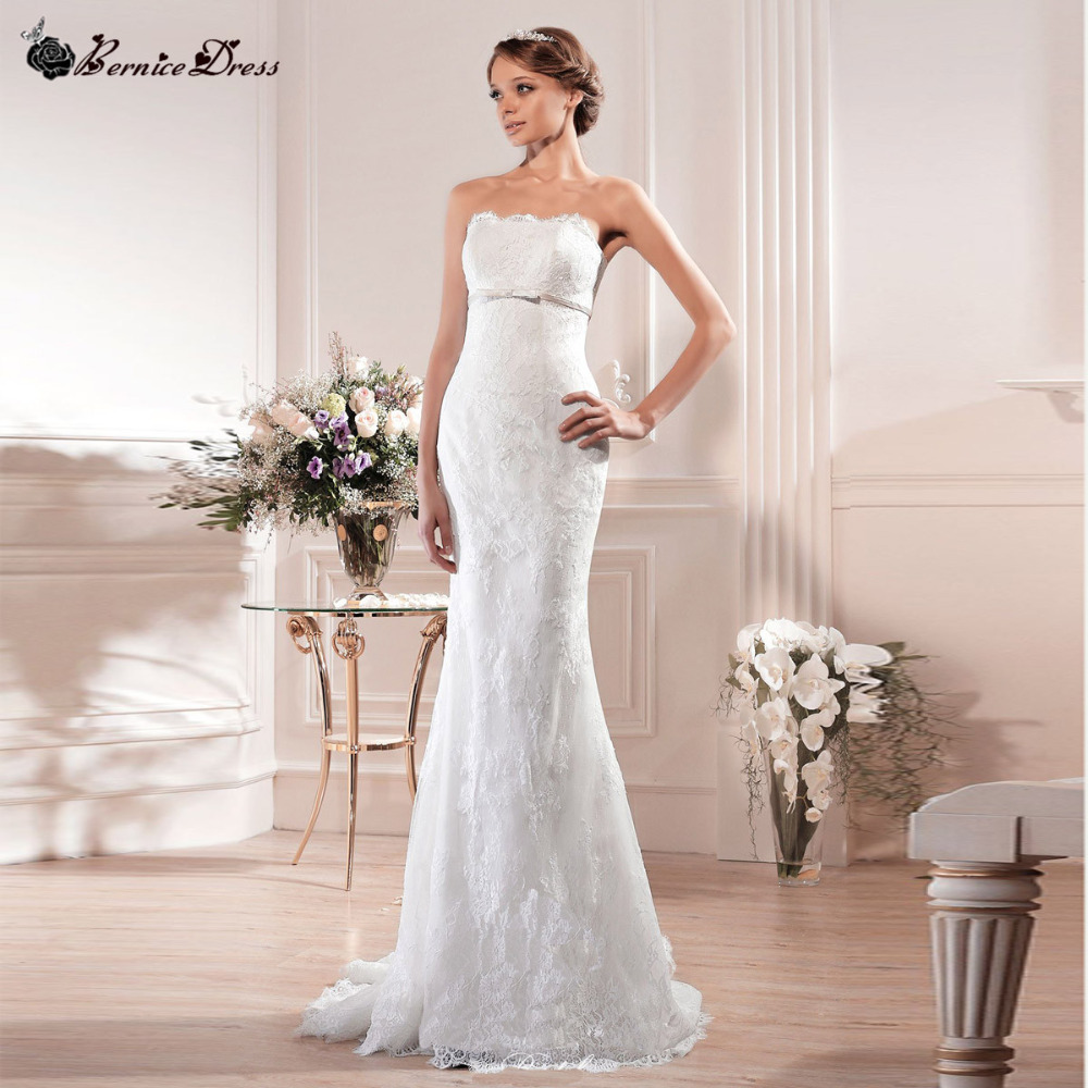 Romantic Lace Wedding Dress Vernassa Vestidos De Novia
