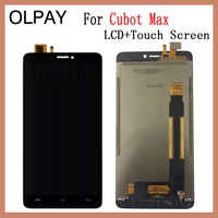 OLPAY 6.0'' New Original For Cubot Max CellPhone LCD Display + Touch Screen Digitizer Assembly Replacement Glass Free Tools