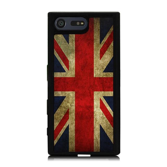 Drapeau Britannique Cru Tpu Étui En Silicone Pour Sony Xperia Z lmKhPNW0u