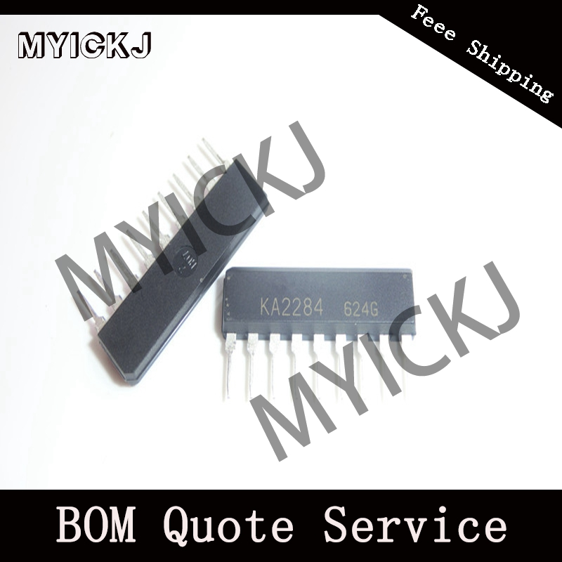 5pcs KA2284 5 DOT LED LEVEL METER DRIVER  IC CHIP