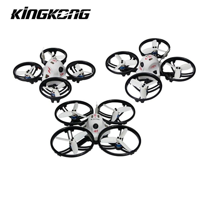 Auf Lager! Kingkong ET Serie ET100-LOCATOR 100mm Micro FPV Racing Drone 800TVL Kamera 16CH 25 mW 100 mW VTX BNF Quadcopter