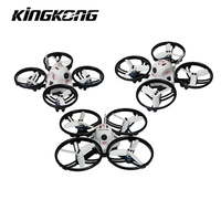 In Stock Kingkong ET Series ET100 100mm Micro FPV Racing Drone 800TVL Camera 16CH 25mW 100mW