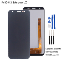 Original For BQ-5512L STRIKE FORWARD LCD Display Touch Screen Digitizer Assembly BQ 5512L