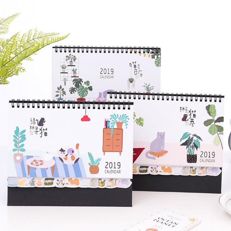 Kalender, Planer Und Karten Kicute 2018 Jahr Schwarz Weiß Stil Luminous Kalender Schreibtisch Stehenden Papier Multifunktions Organizer Schedule Planer Memo Kalender Kalender